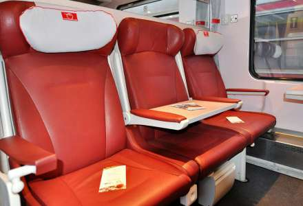 First class seats - IC